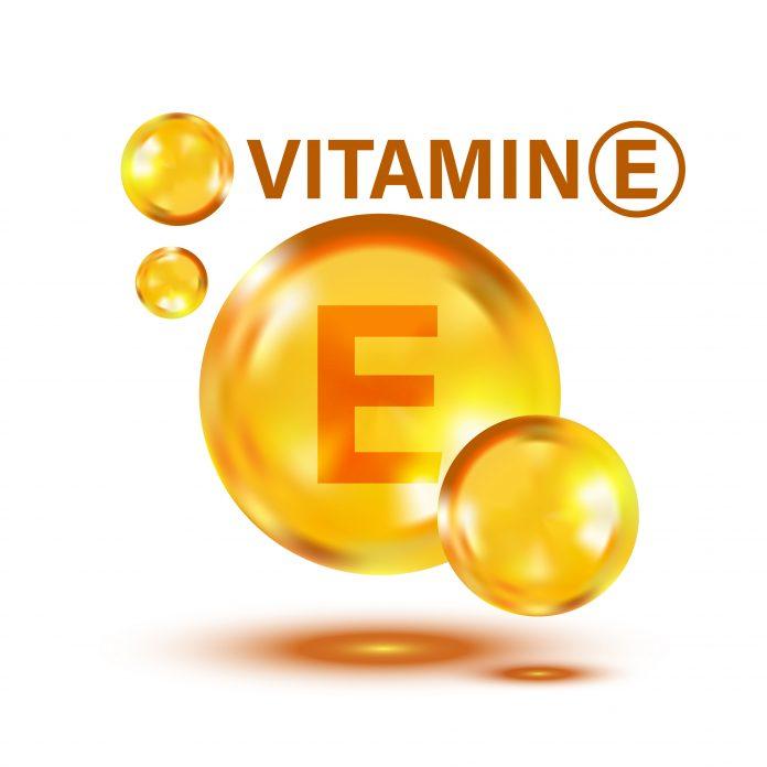 Βιταμίνη Ε σε γραφιστικό εικονίδιο