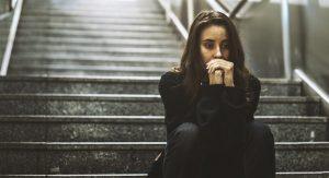 Ενήλικη γυναίκα με κατάθλιψη