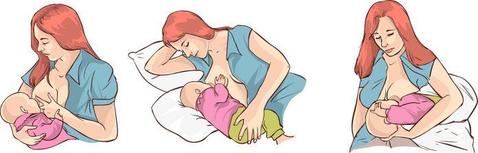 Σωστή στάση θηλασμού
