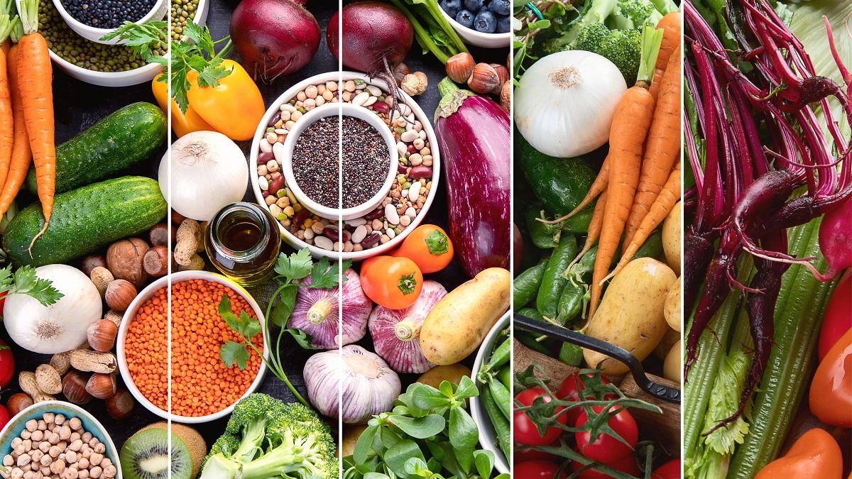 Υγιεινά τρόφιμα για χορτοφαγική δίαιτα