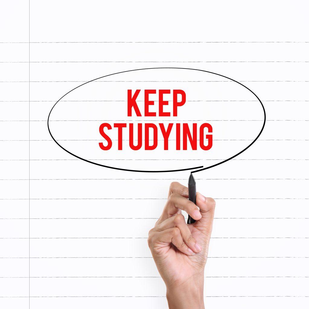 Σημείωση KEEP STUDYING