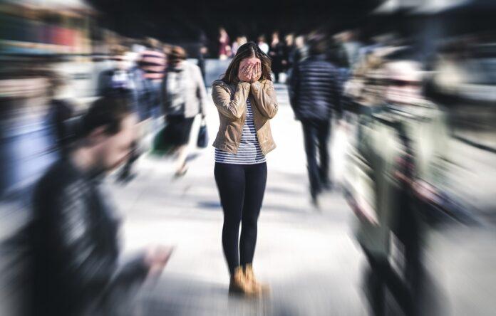 Γυναίκα με διαταραχές άγχους