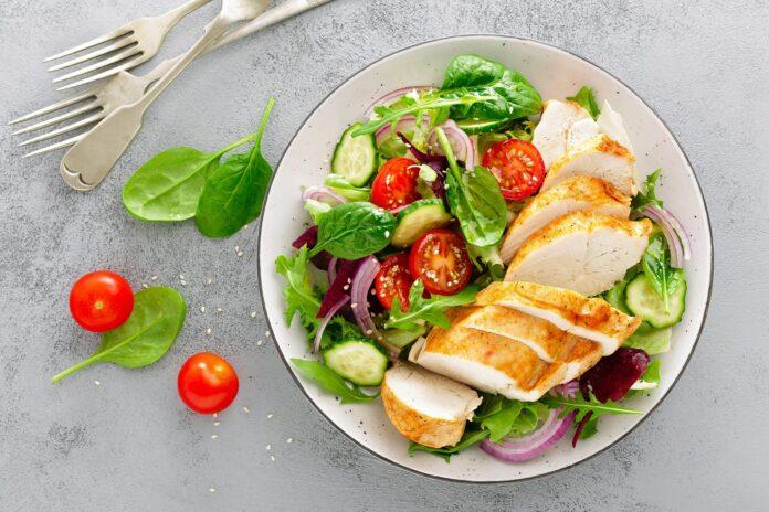 Πιάτο με υγιεινά τρόφιμα