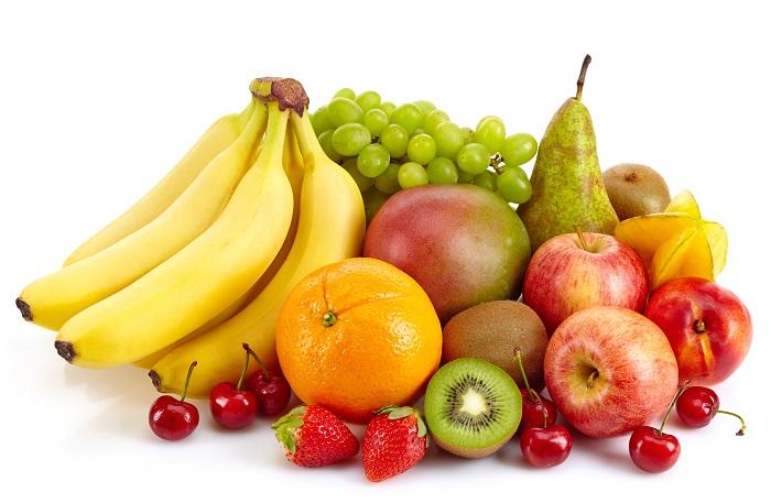 Διάφορα φρούτα έτοιμα για κατανάλωση