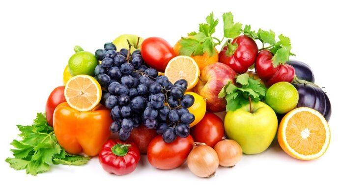 Διάφορα φρούτα για κατανάλωση