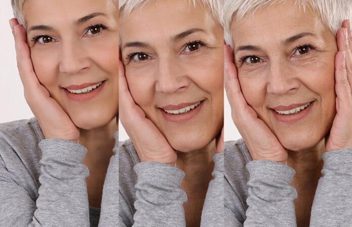 Γυναίκα αισιόδοξη και γήρανση