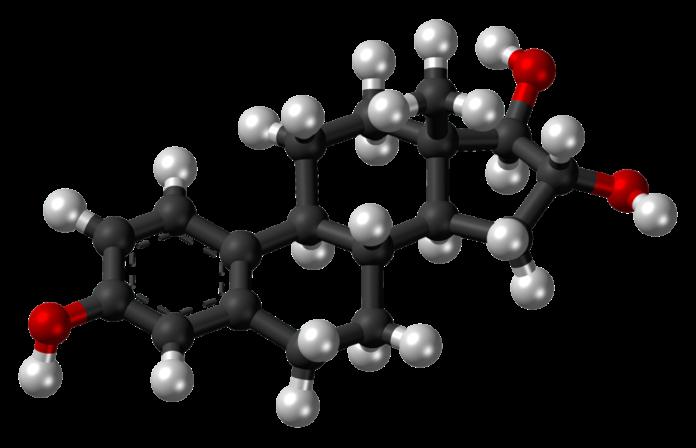 Τρισδιάστατη δομή οιστριόλης