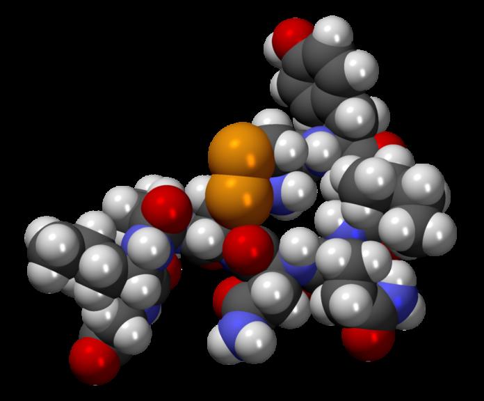 Τρισδιάστατη δομή της ωκυτοκίνης
